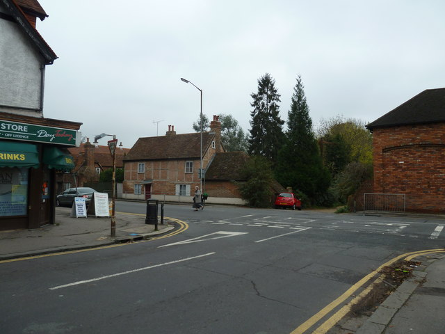 Looking from St Anne's Road into Church Road