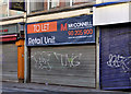 J3374 : Vacant shop, Belfast (8) by Albert Bridge