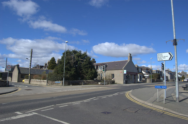 Newmachar village centre