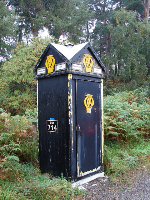 AA Phone Box in need of some TLC