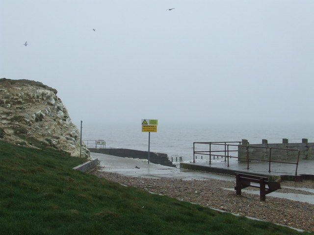 Sussex coast at Seaford
