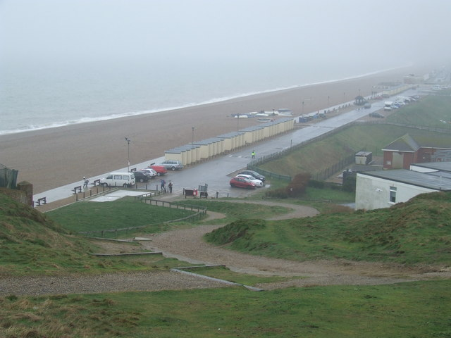 Seaford Promenade in the mist