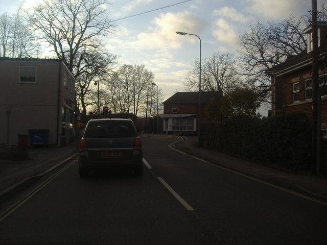Junction of Aldershot Road and Reading Road South