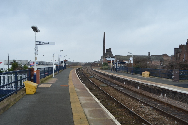 Longton Railway Station