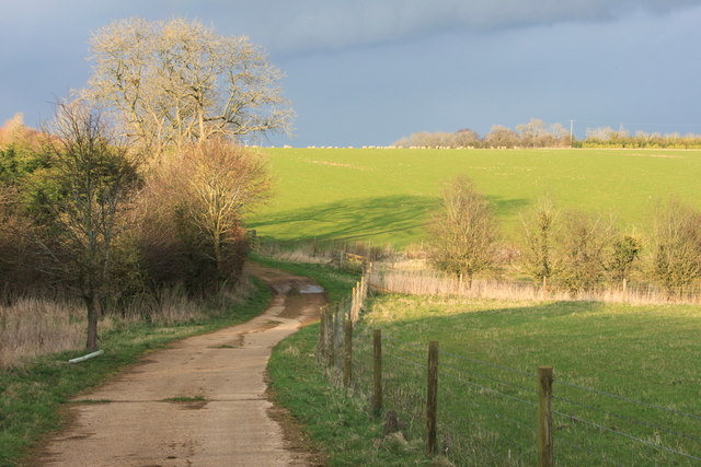 Farm track at Stockwell Farm