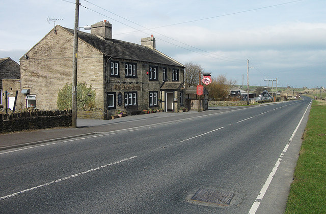 A640, New Hey Road