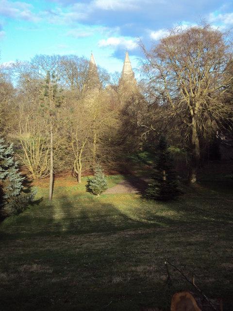 Arboretum in Cruikshank Gardens