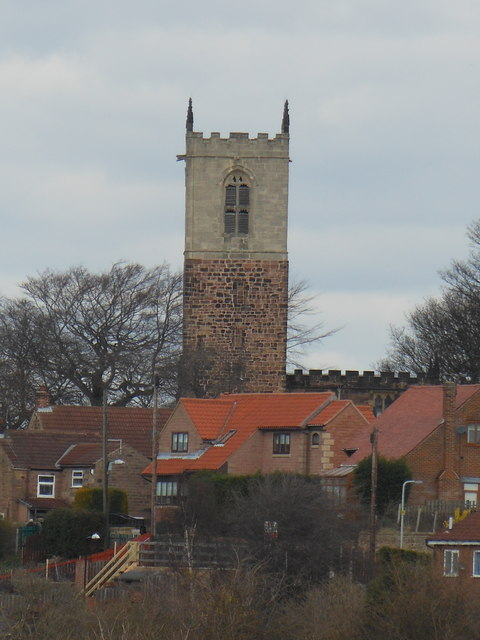 Church Tower St. Helen's Treeton