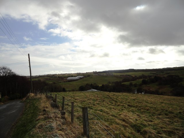 View South from Peter Bank