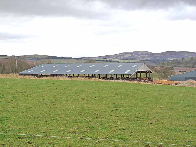New barn at Cairnleith Farm