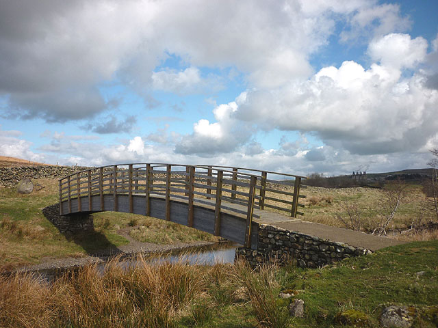 Footbridge, Cooper's Green