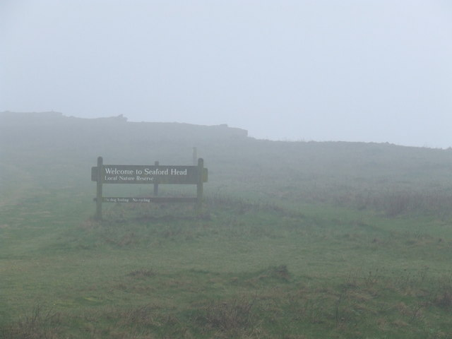 Mist at Seaford Head