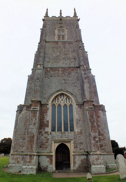 The church tower