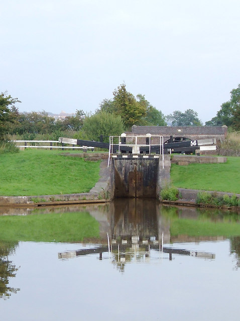 Pierpoint Locks east of Hassall Green, Cheshire