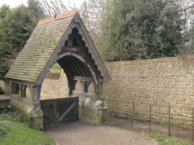 Lych gate, Church of the Ascension, Whixley