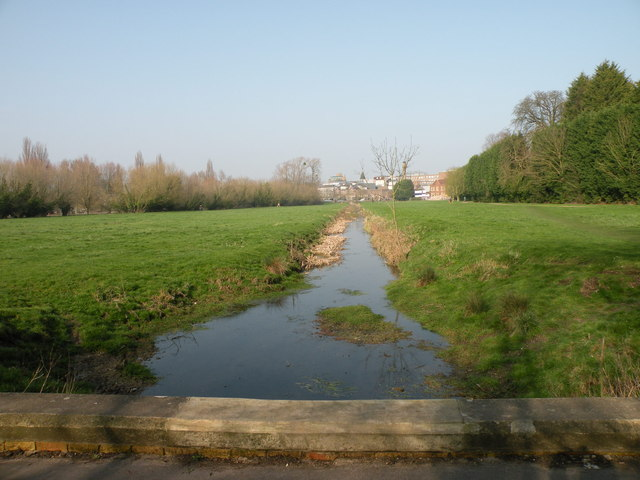 Ditch across Coe Fen