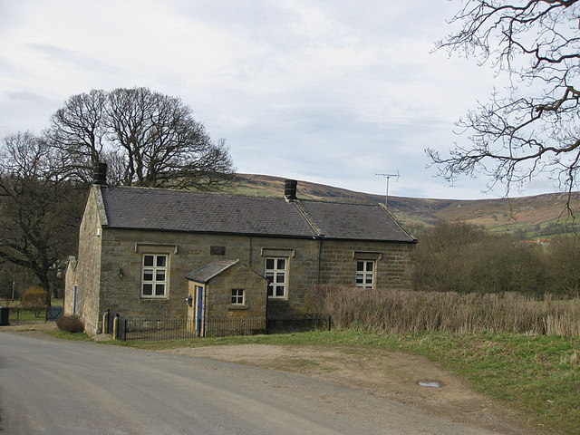 The old school, Church Houses, Farndale