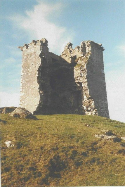 Rinvyle Castle in 1985