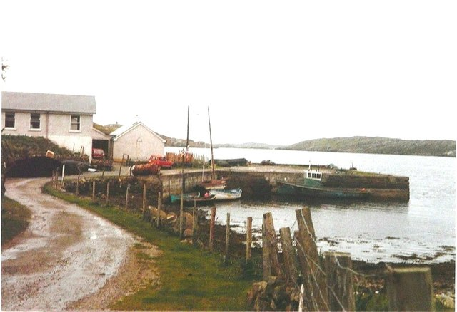 Killary Harbour youth hostel in 1985