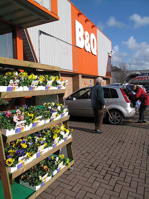 The B&Q Store at Galashiels