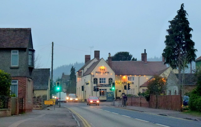 The Red Lion at Huntley