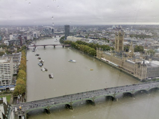 River Thames, Westminster Bridge, and Houses of Parliament