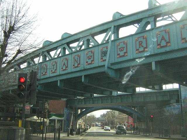 Railway Bridges Over Kilburn High Road Christopher
