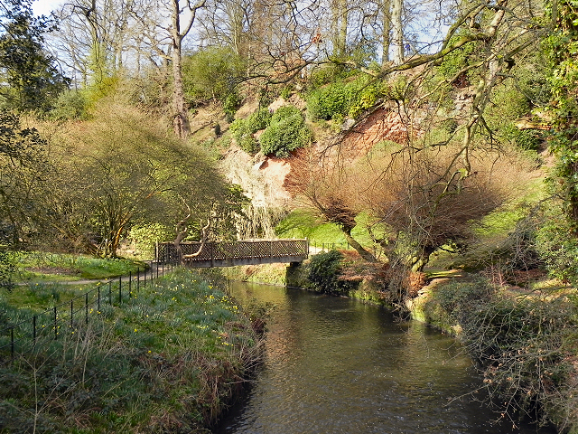 River Bollin, Quarry Bank Mill Lower Garden