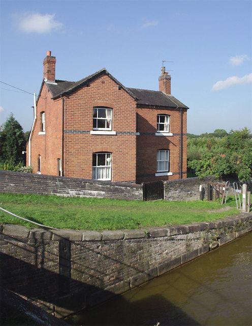 House near Thurlwood Lower Locks, Cheshire