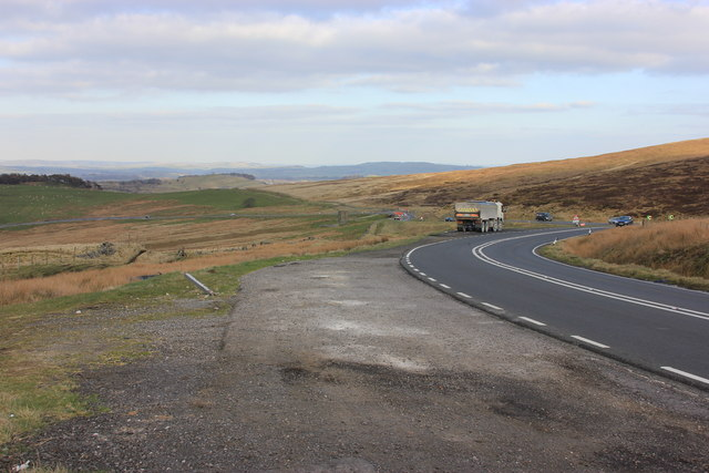 A54 descent to Buxton