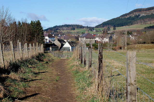 Path from Moulin near Pitlochry
