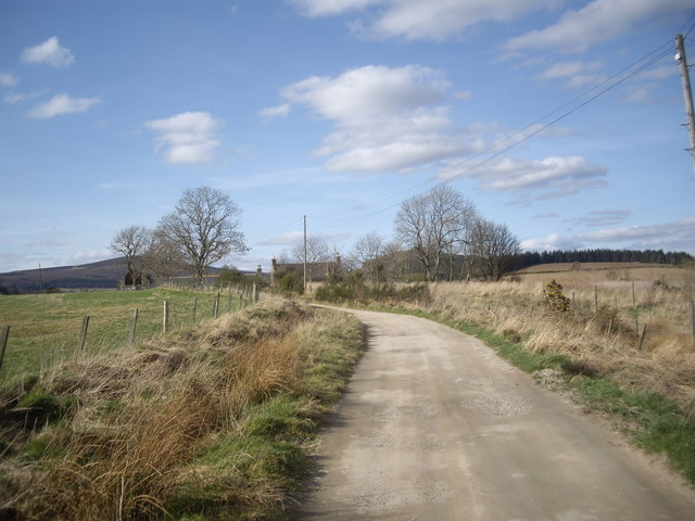 Lane towards North Bandodle