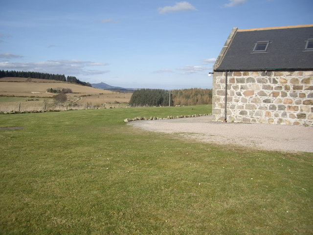 A distant view of Bennachie