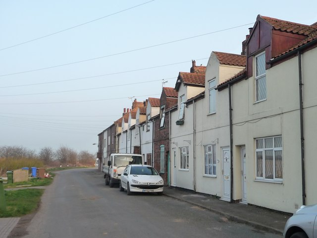South side of Moor Road