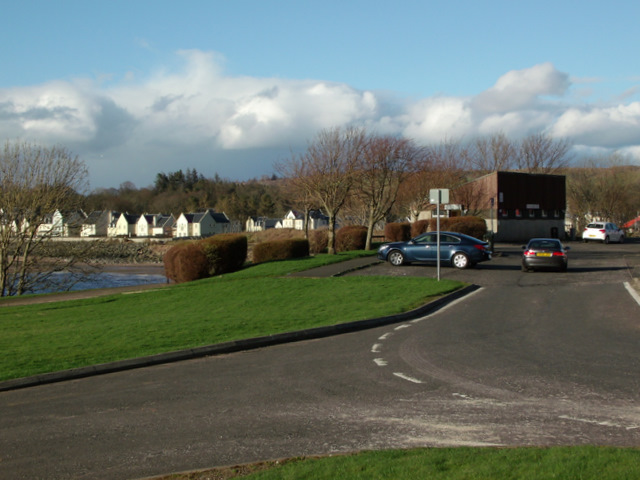 The Point car park and toilets