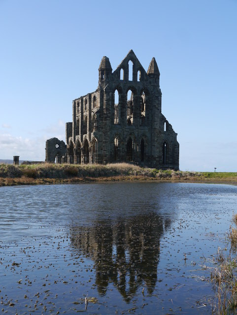 Whitby Abbey: Presbytery