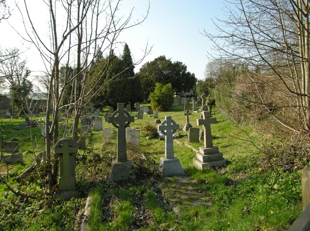 Keston Parish Churchyard