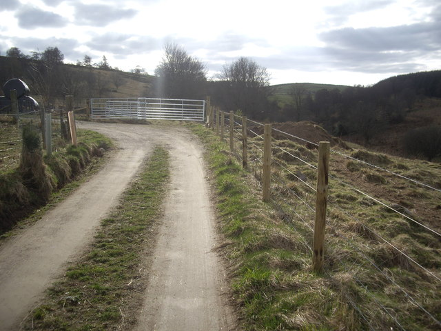 A corner on the track to Bandodle Hill