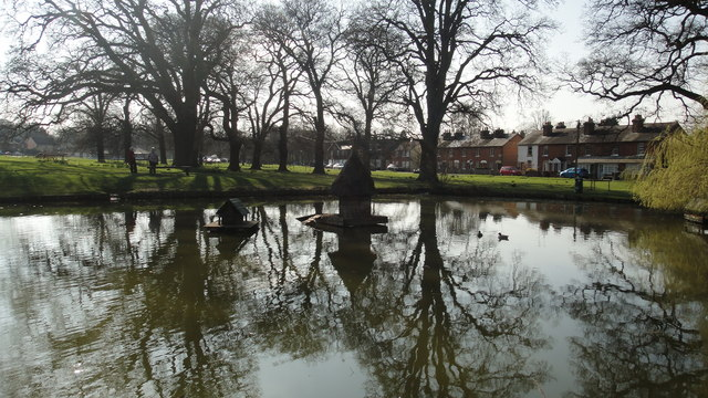 Hartley Wintney pond