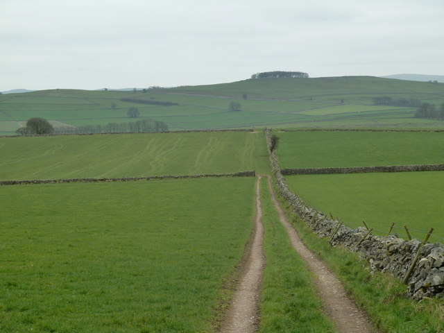 Fields above Hay Dale