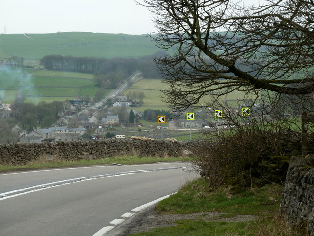 A623 above Peak Forest