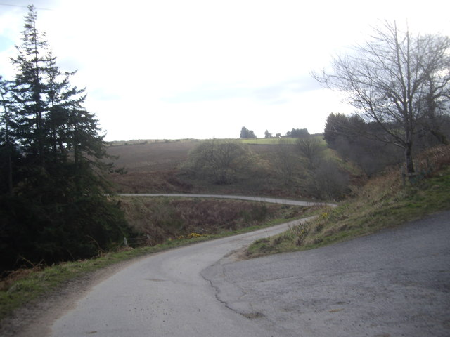 Minor road from Comers to Auchorie