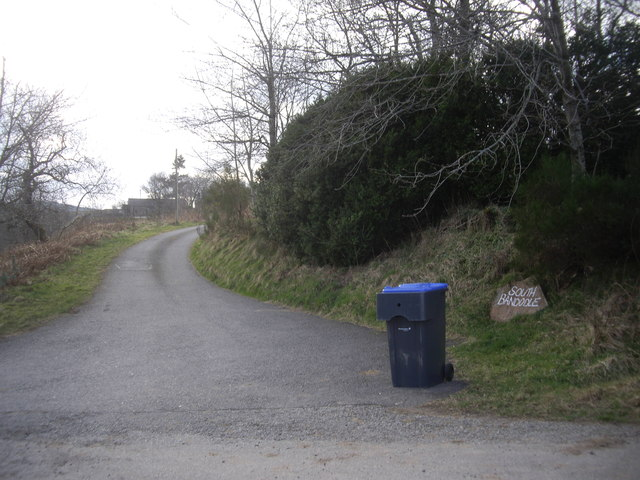 Access lane to South Bandodle