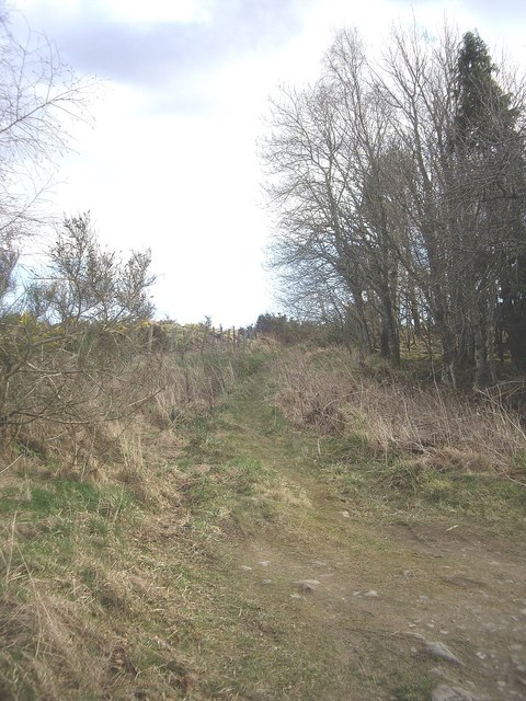 Track above 'Hill of Bandodle' farm