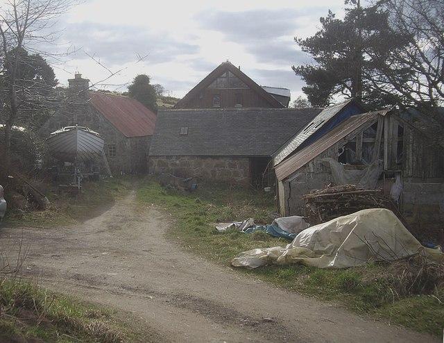 Farmyard-cum-boatyard