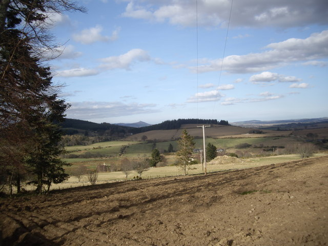 View towards Backhill