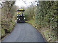 SK1284 : Road resurfacing below Mam Tor by Chris Morgan