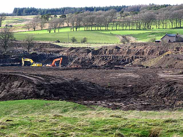 Haywood opencast coal mine