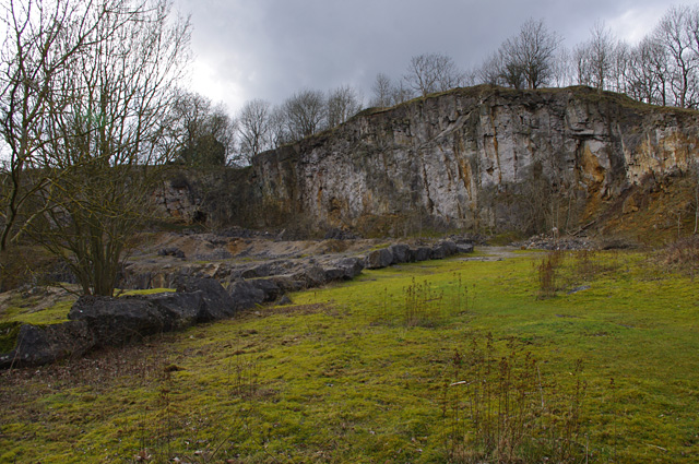 Abandoned quarry, National Stone Centre