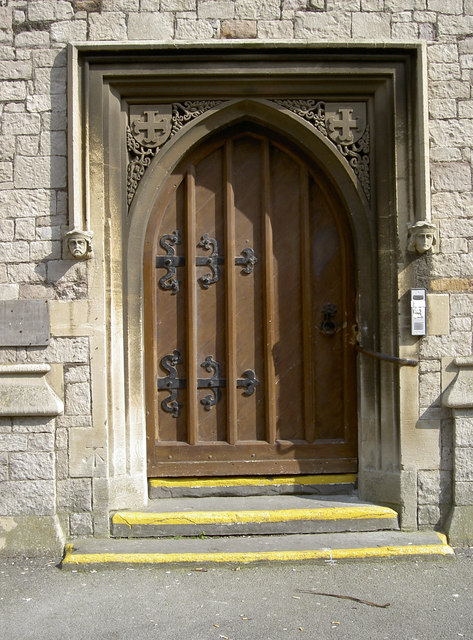 Emmanuel church doorway